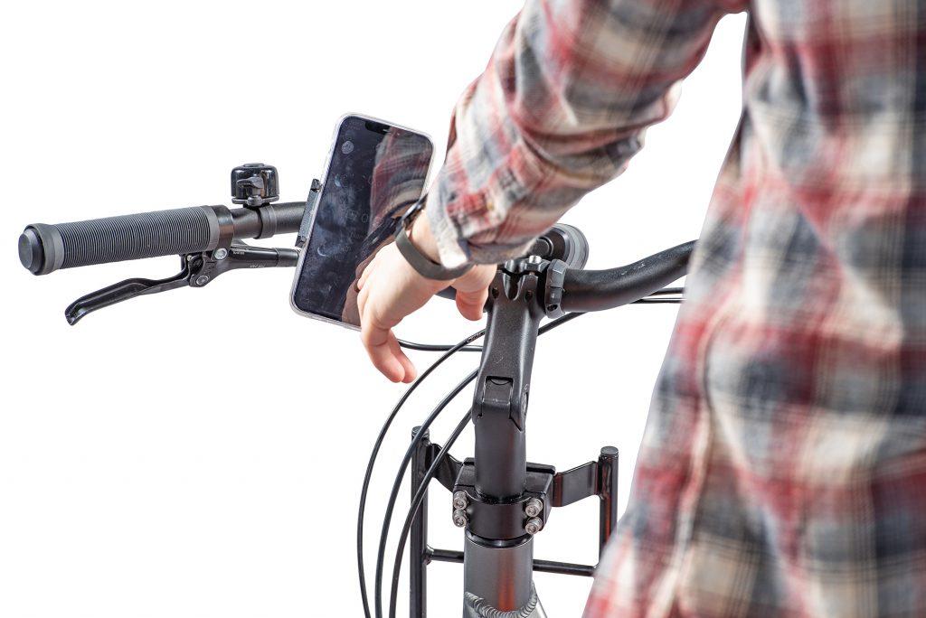 Aansturing fiets